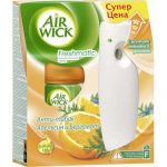 Air Wick Freshmatic Автоматический освежитель воздуха Анти-Табак Апельсин и бергамот