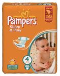 Подгузники Pampers Sleep & Play Maxi [4] 7-18 кг (86шт)