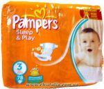 Подгузники Pampers Sleep & Play Midi [3] 4-9 кг (78шт)