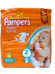 Подгузники Pampers Sleep & Play Mini [2] 3-6 кг (88шт)