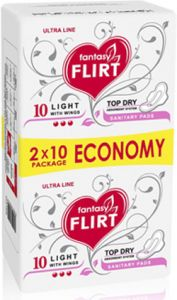 Flirt Ultra Light Top Dry (20шт)  ― ЧИСТЮЛЯ